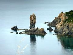 Sentier du Capu Rossu : l'aiguille au Sud du Capu Rossu
