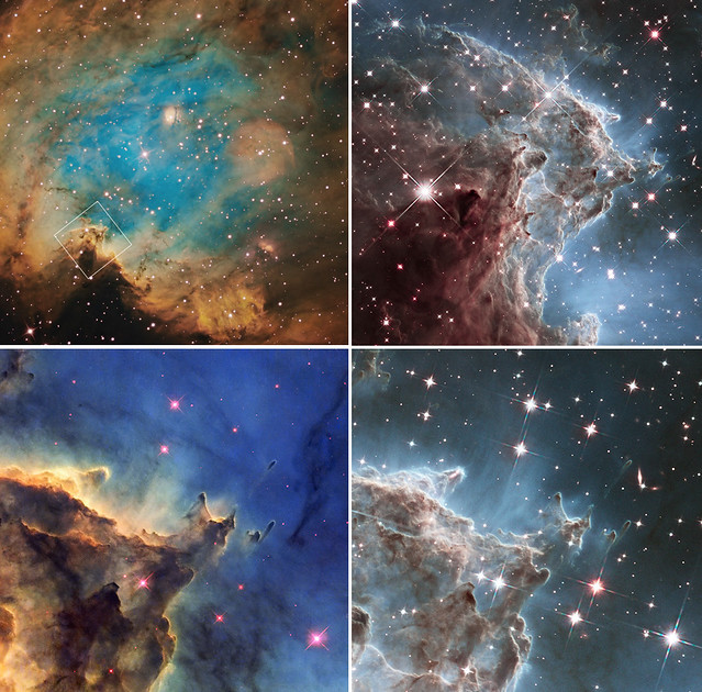 Photo:Hubble Celebrates 24th Anniversary with Infrared Image of Nearby Star Factory By:NASA Goddard Photo and Video