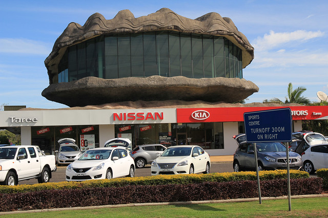 The Big Oyster, Chatham, Taree, NSW