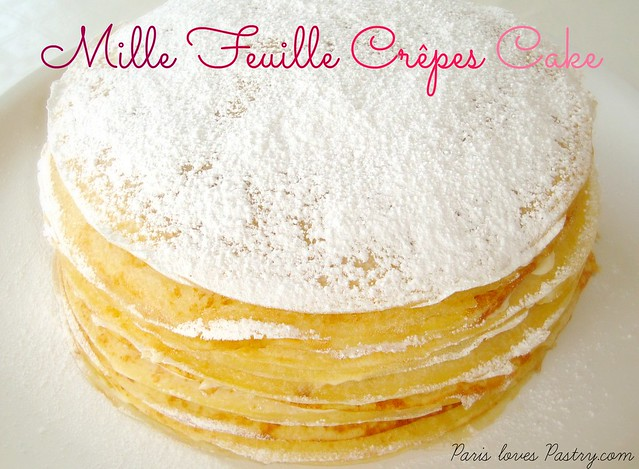 Mille Feuille Crêpes Cake