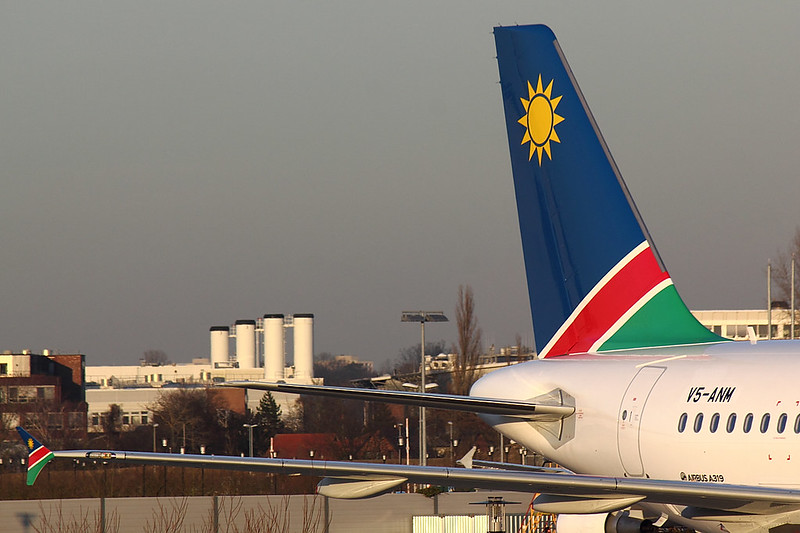 Air Namibia - A319 - V5-ANM