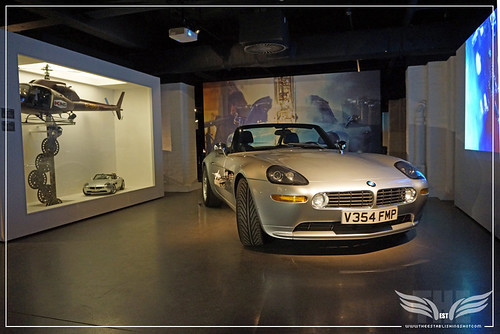 The Establishing Shot BOND IN MOTION - BMW Z8 FROM THE WORLD IS NOT ENOUGH @ LONDON FILM MUSEUM COVENT GARDEN (2) by Craig Grobler