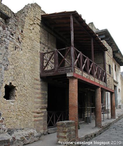 Samnitisches Haus mit Vorbau