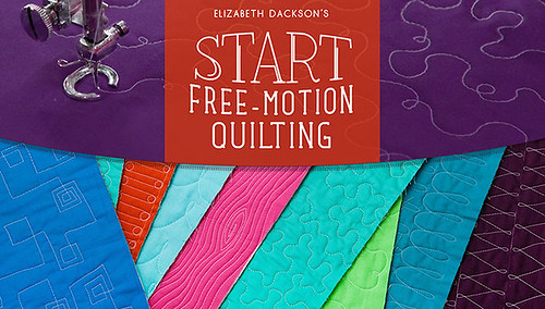 My Craftsy Class - Start Free-Motion Quilting