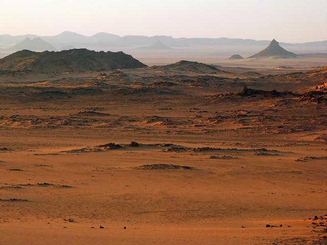 Área de Peter and Paul en el Desierto Líbico (Egipto)