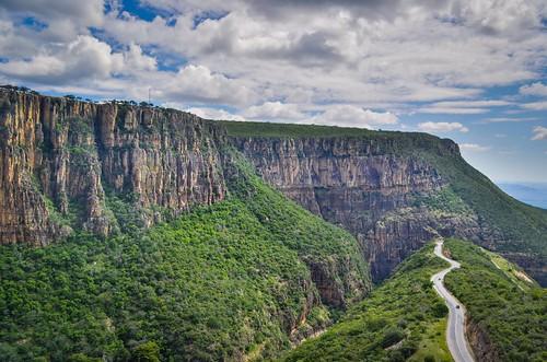 Cycling up the Serra da Leba road