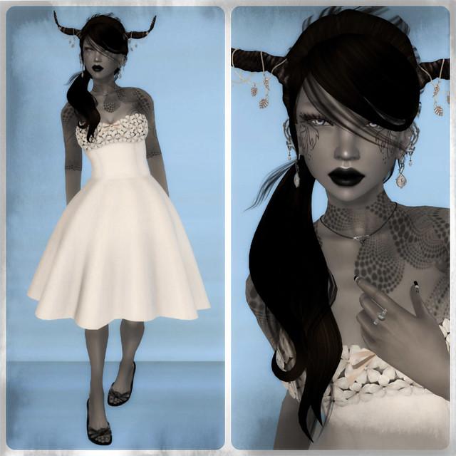 Pretty Katat0nik dress and Bubbles hair!