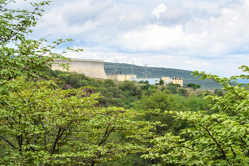 Ruacana hydro power station