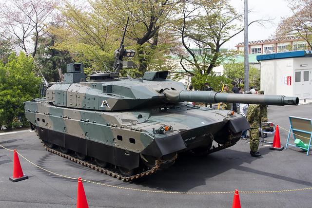 第1戦車大隊 10式戦車