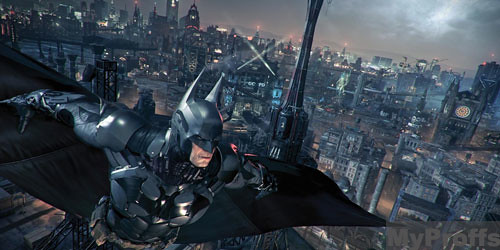 Batman: Arkham Knight screenshots shows Batmore, villains like Penguin, Riddler, Two-Face