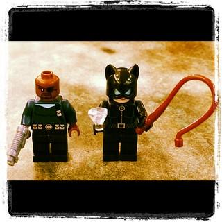 Lego minifig haul...Nick Fury & Catwoman! #Lego #geekology #geekshavethemostfun #ilhanology