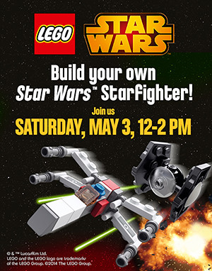 LEGO Star Wars Toys R Us May 2014 Event