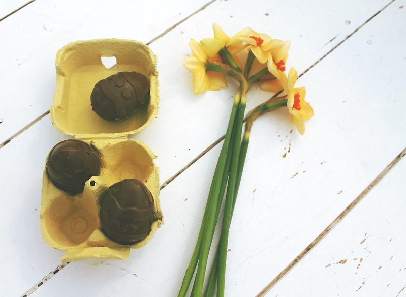 Making Easter eggs