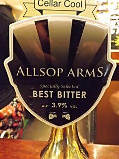 Allsop Arms, Best Bitter, England