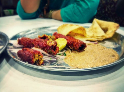 Seekh Kebab At Shehran -   - Pic Courtesy Ankit Becks