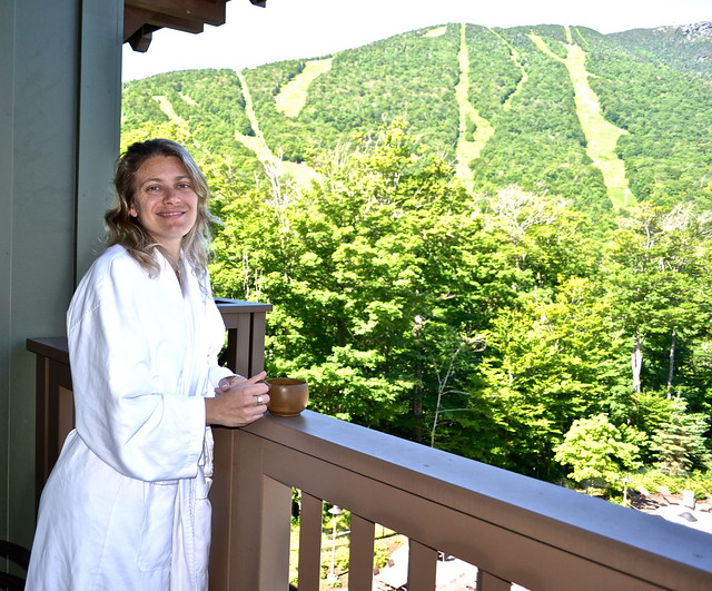 views of the mountains - Stowe Mountain Lodge, Vermont