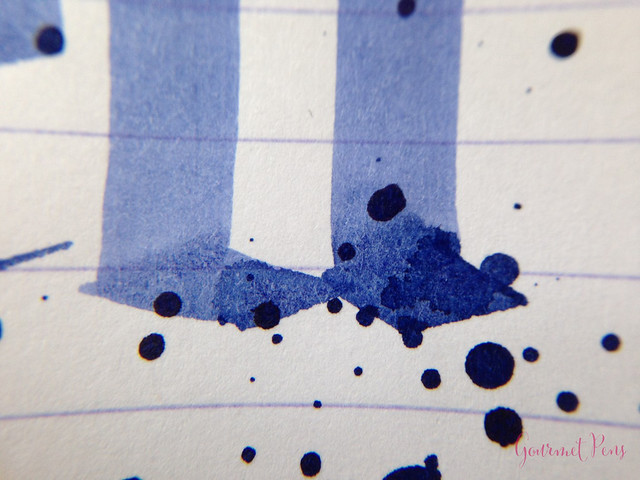 Ink Shot Review J. Herbin Blue Myosotis (Forget-Me-Not Blue) @BureauDirect (8)