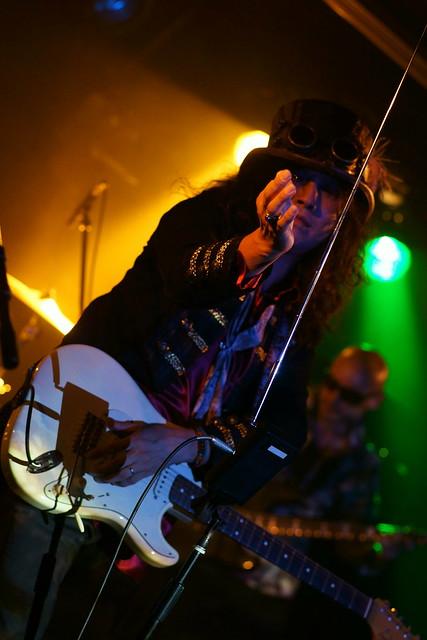 Coal Tar Moon live at 獅子王, Tokyo, 17 Jul 2015. 160