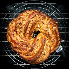 White Chocolate & Hazelnut Couronne