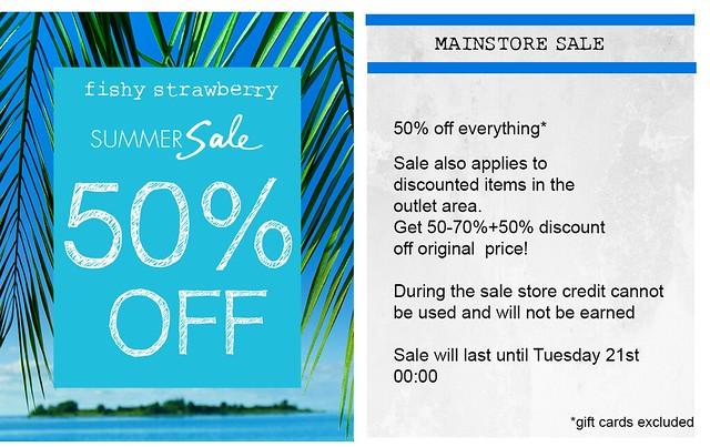 Fishy Strawberry Summer Sale