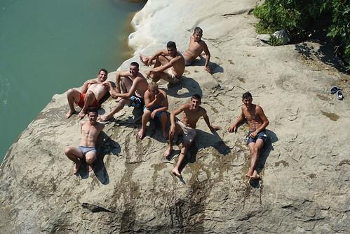 bridge men boys albania burrell