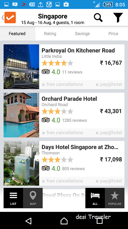 cleartrip app review