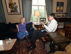 U.S. Department of the Treasury: Secretary Lew meets with Doris Kearns Goodwin (Thursday Jul 30, 2015, 1:38 PM)