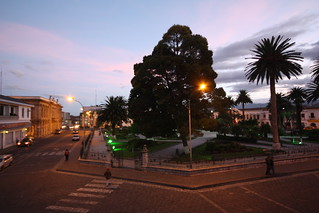Vicente León Park.  Latacunga, Ecuador.