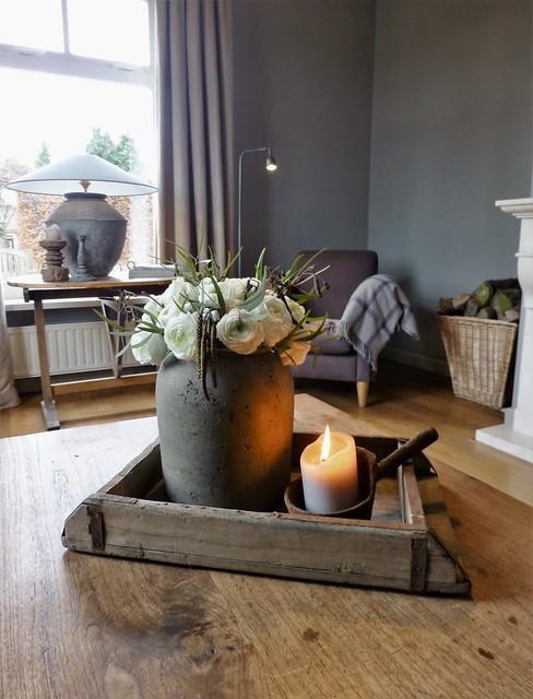 Decoratie salontafel landelijk