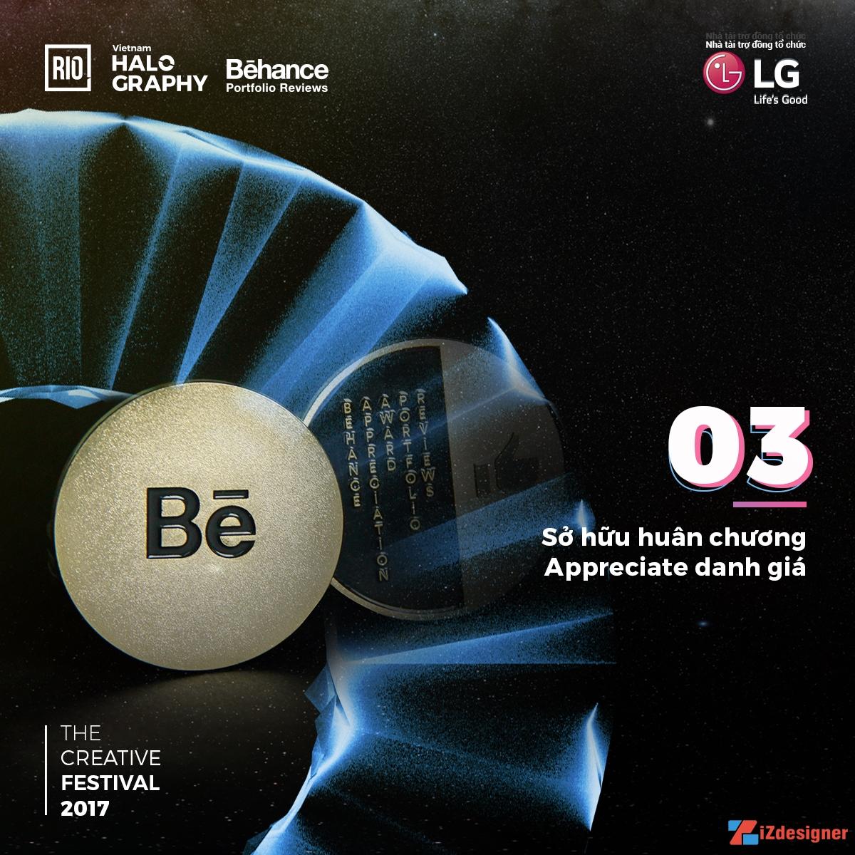 5 Lí do khiến bạn muốn tham gia Behance Portfolio Reviews Vietnam 2017