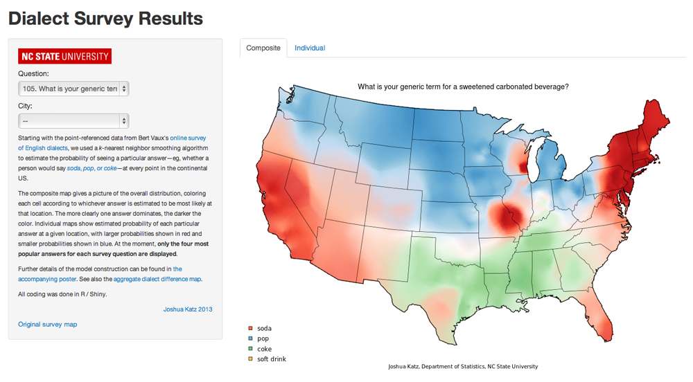 Dialect Survey Results