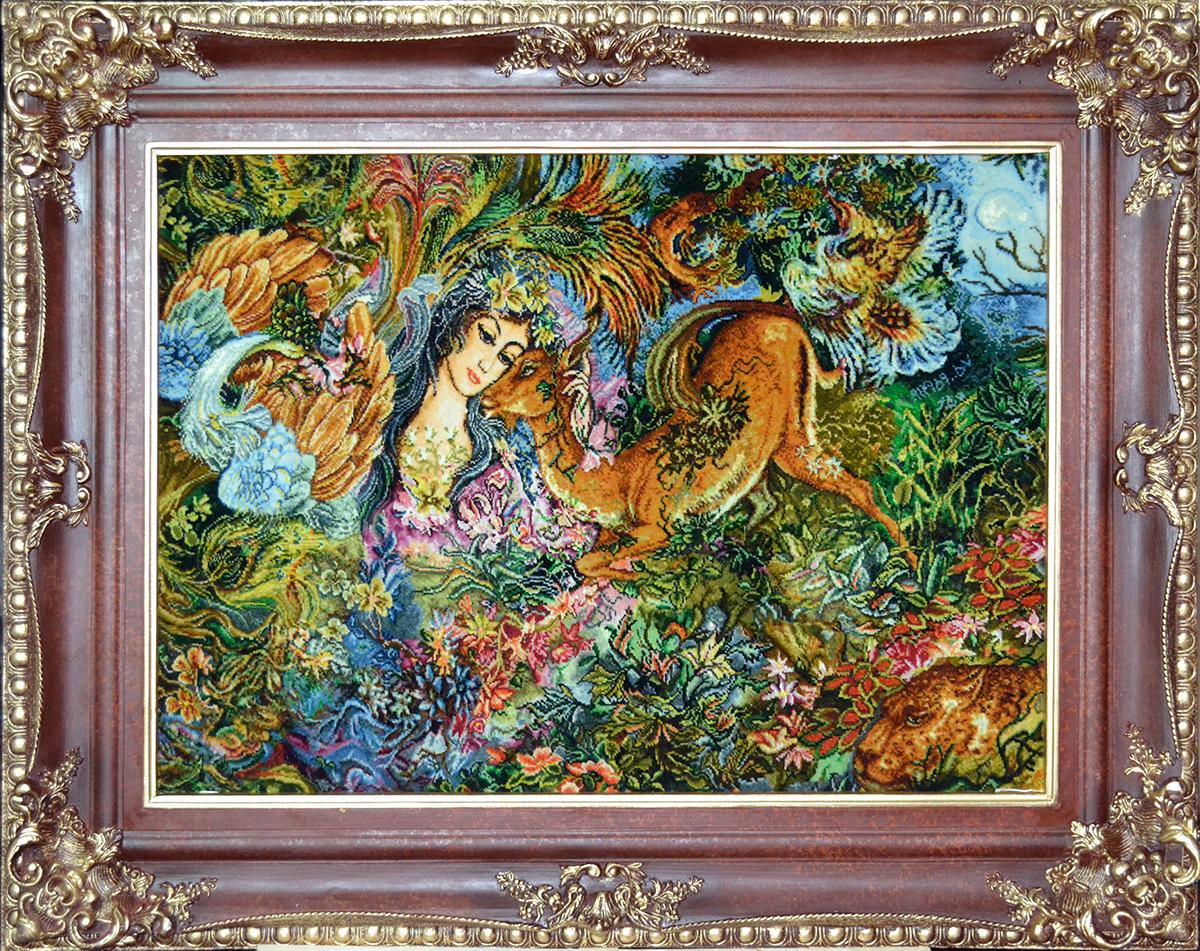 Persian Tableau Rug-Pictorial Carpet