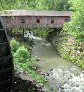 Covered Bridge at Clifton Mills