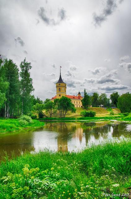 Castle Bip. Pavlovsk. Замок Бип. Павловск.