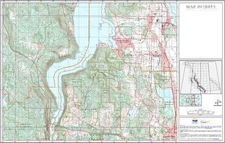 Provincial topographical base maps go mobile