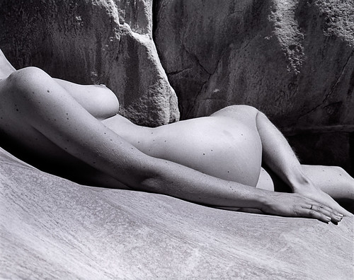 Nude on smooth rock by El Cajon, on Flickr