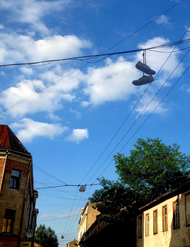 A pair of shoes... by aigarsbruvelis