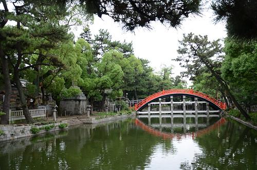 Sumiyoshi taisha bridge (taiko bashi)