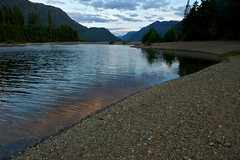 Evening Light, Buttle Lake