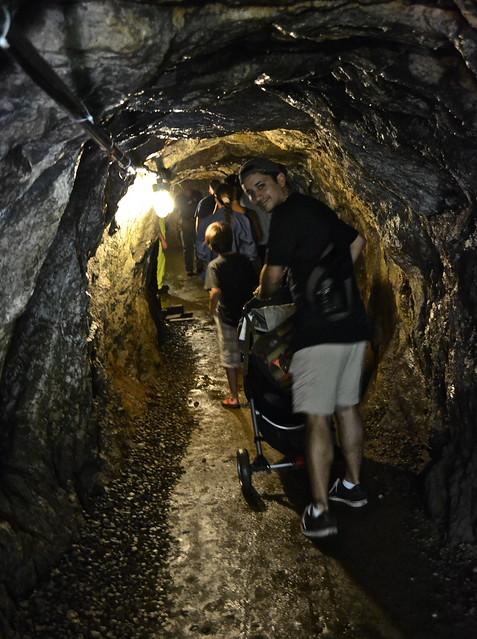underground mine  - Sterling Hill Mining Museum