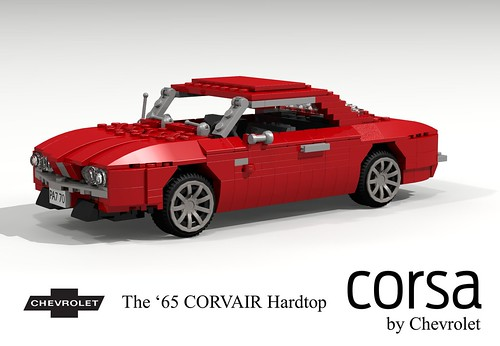 Chevrolet 1965 Corvair Corsa Two-door Hardtop