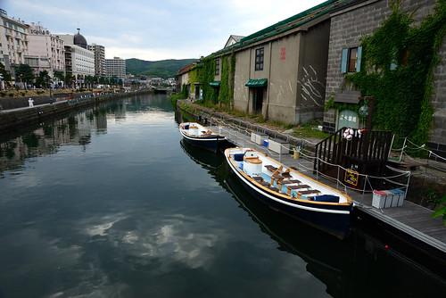 Otaru Canal, Otaru, Hokkaido, Japan