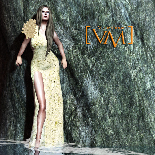 [VM] VERO MODERO  Naz Gown Gold