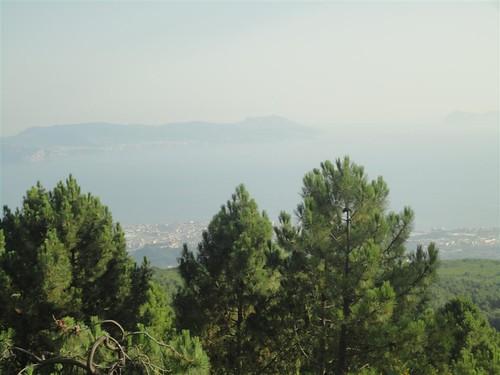 Golfo di Napoli visto dal Vesuvio