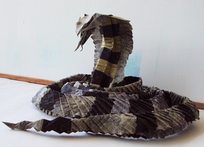 King Cobra By Ronald Koh, folded by me