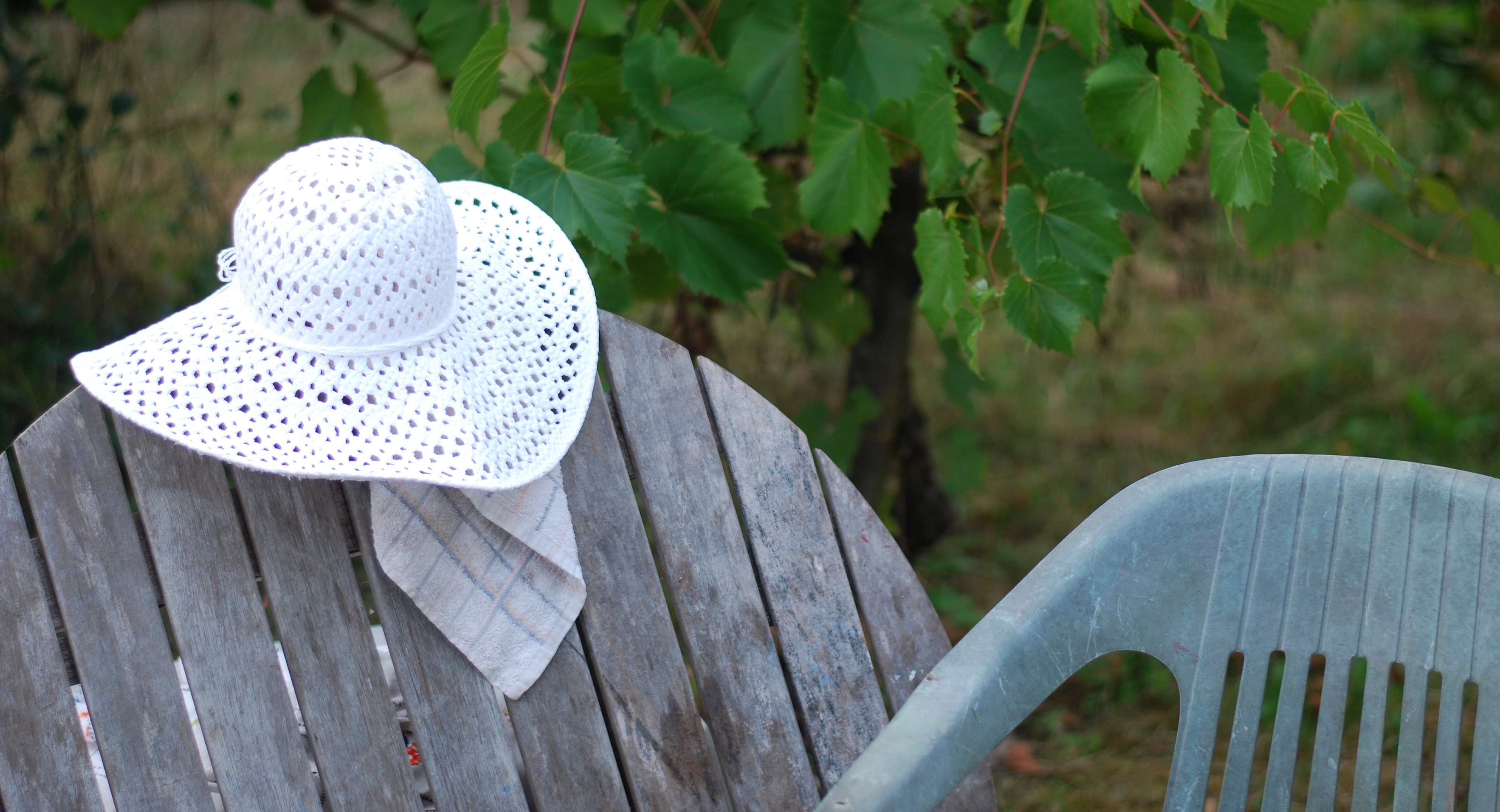 chambray and curls summer hat outdoor furniture