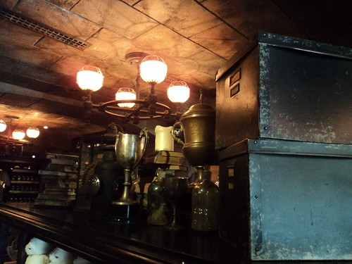 Inside Filch's Emporium