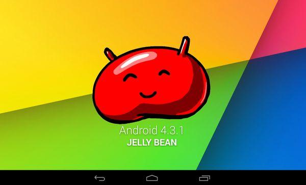 Android 4.3.1 для Nexus 7