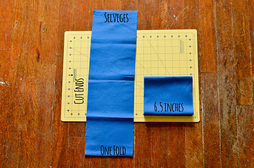 Step 9: Unfold a Fabric Rectangle