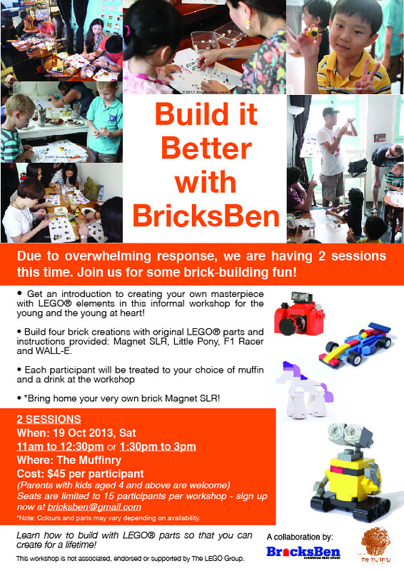 19/10 Build it Better with BricksBen at The Muffinry 10111004183_9cd82cd884_c